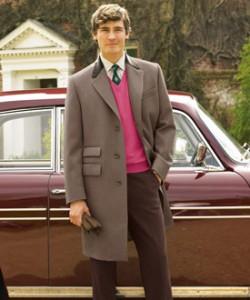 Un joli manteau chesterfield de chez Cordings, qui joint l'agrément du chic au plaisir du chaud