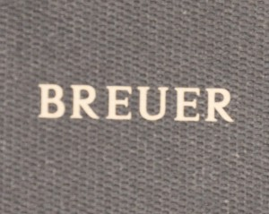 l'enseigne Breuer, rue de la Paix
