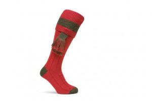 Les garter ou aiguillettes servent à décorer les chaussettes de chasse