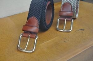 Les ceinture tressés Di Castri et leur belles boucles