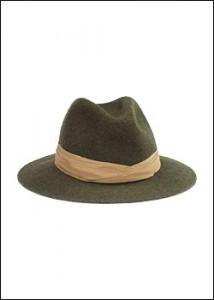 Un chapeau de chasse de luxe que l'on ma offert en cadeau