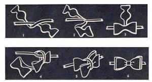 Voilà, en 6 étapes, comment faire un nœud papillon !