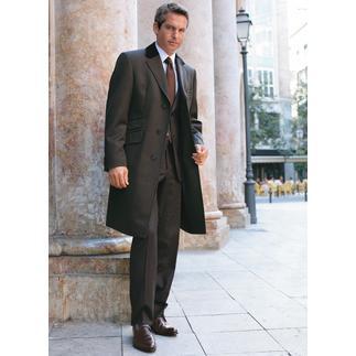 Manteau homme velours noir