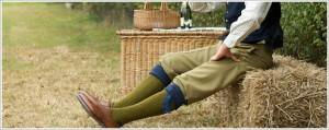 De superbes chaussettes de chasse Cordings