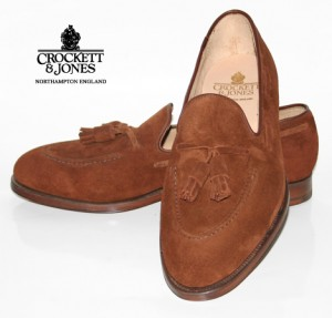 Une belle paire de mocassins à glands Crockett & Jones