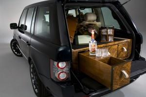 L'incroyable et cossu coffre du Range Rover Holland et Holland