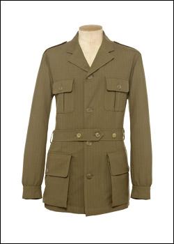 Une superbe veste Saharienne de la maison Purdey, même si elle pourrait être un peu plus clair.