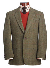 Une veste Harris Tweed