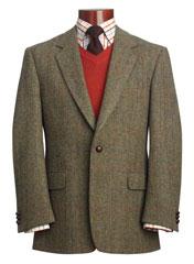 Une veste Harris Tweed