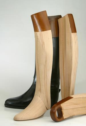 Superbe paire d'embauchoirs de bottes provenant de chez Hervé Brunelle