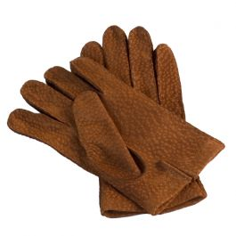 Des gants de pécari