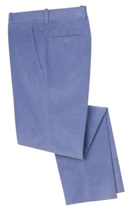 Un pantalon de couleur pour homme, Bernard Zins