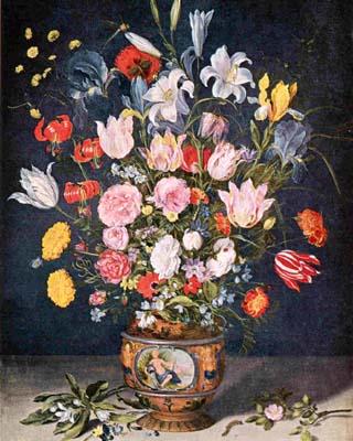 Une nature morte et florale de Jean Brughel
