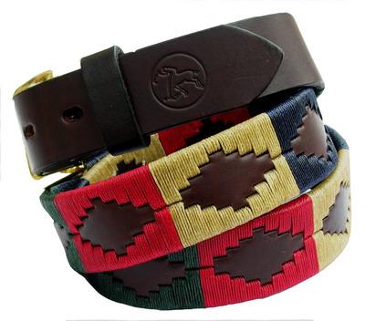 Une ceinture de gaucho colorée