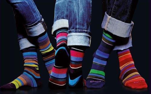 Des chaussettes Gallo portées avec un jean