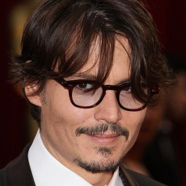Les lunettes en écaille de Johnny Depp