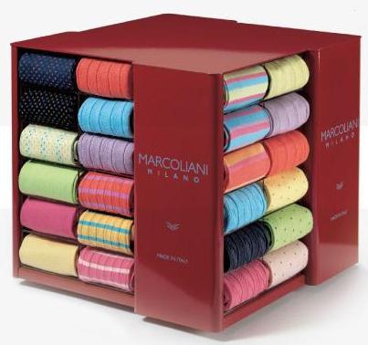 Des chaussettes colorées Marcoliani