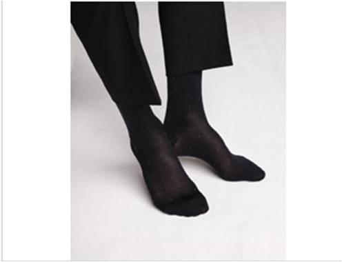 Chaussettes en soie