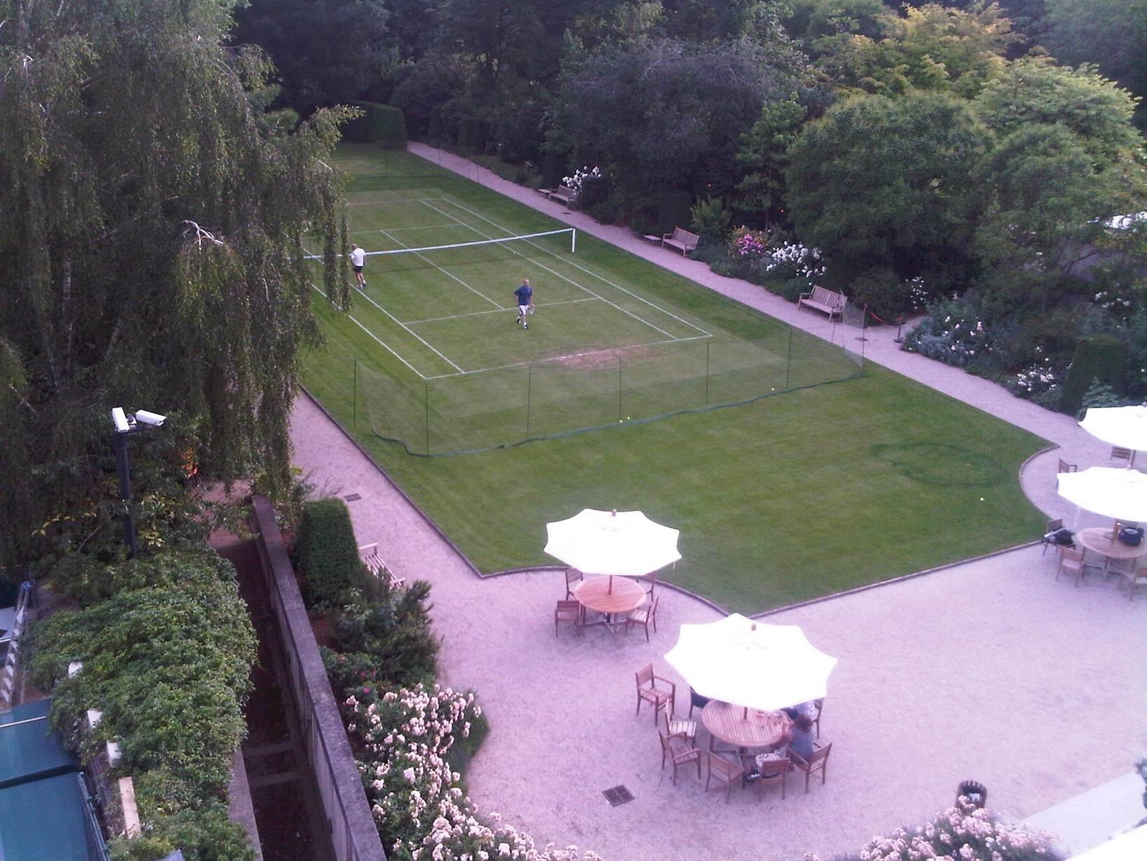 Le tennis sur gazon paris mes el gances - Office tourisme grande bretagne paris ...
