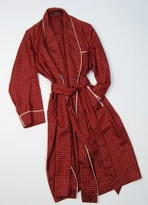 robe chambre sulka soie