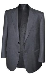Un superbe costume gris