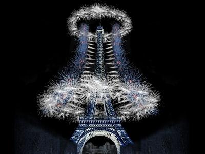 Le feu d'artifice qui n'a pas eu lieu cette année à Paris