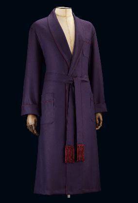 Une robe de chambre en laine exemplaire