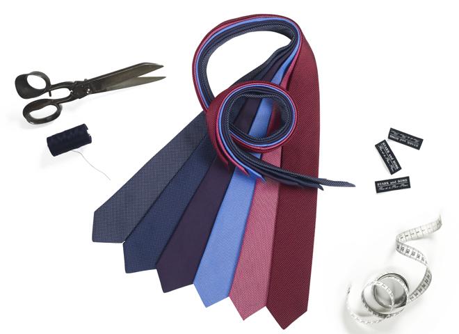 Les cravates sur-mesure de la journée de la cravate