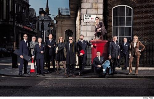 A l'inverse de Londres, les meilleurs tailleurs de Paris ne sont pas tous dans la même rue.
