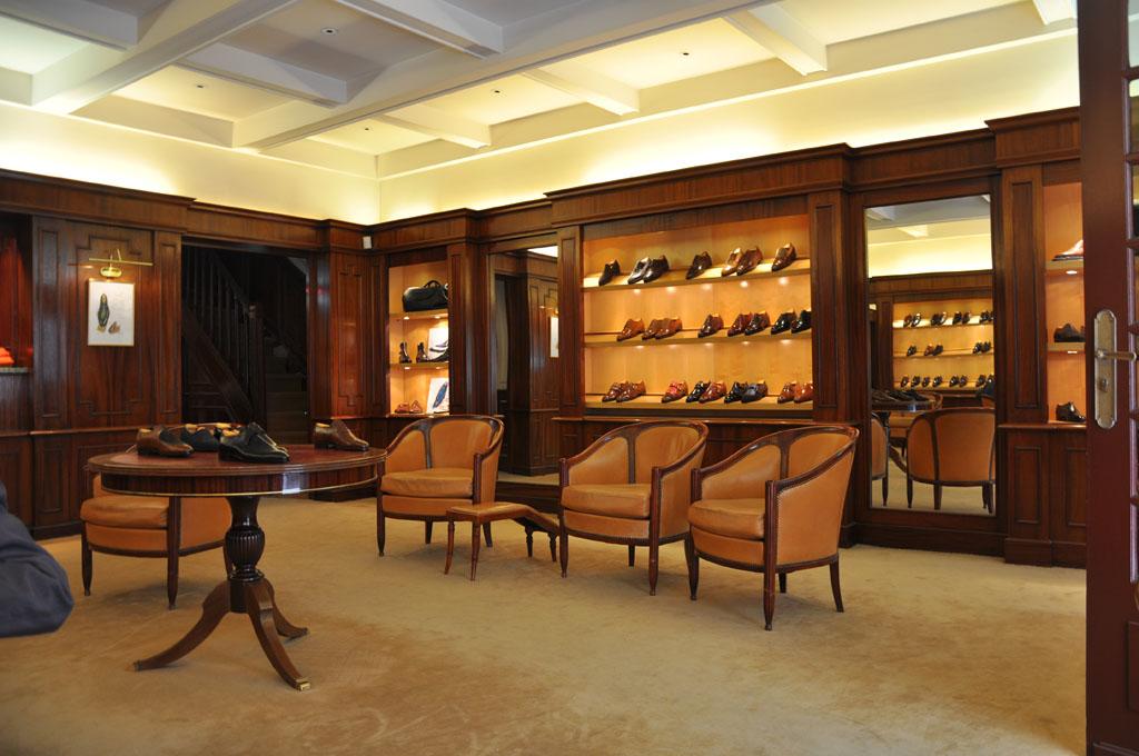 La boutique Aubercy de la rue Vivienne