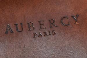 Une semelle Aubercy marquée au fer