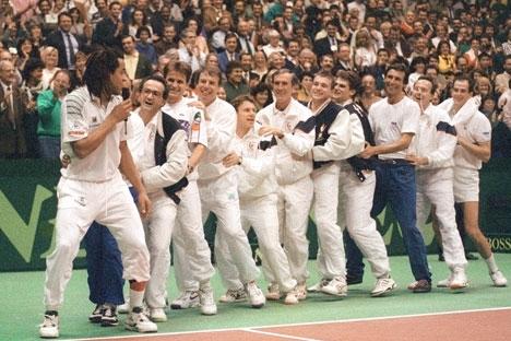 Le Saga Africa de la coupe Davis de 1991