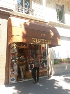 Magasin - boutique Kimono Paris