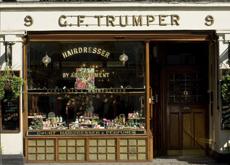 La vitrine de la célèbre boutique de Curzon street, à Londres