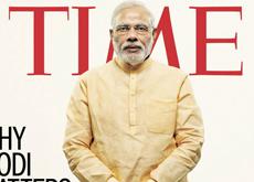 Narendra Modi photographié par Peter Hapak pour le magazine TIME