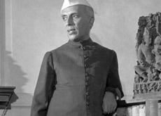 Jawaharlal Nehru photographié pour le magazine LIFE (détail)