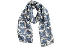 Un motif largement paisley, une écharpe largement désirable...