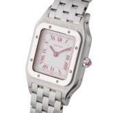 Une source d'inspiration probable : les commandes spéciales réalisées par Cartier, à l'image de cette montre des années 1980.