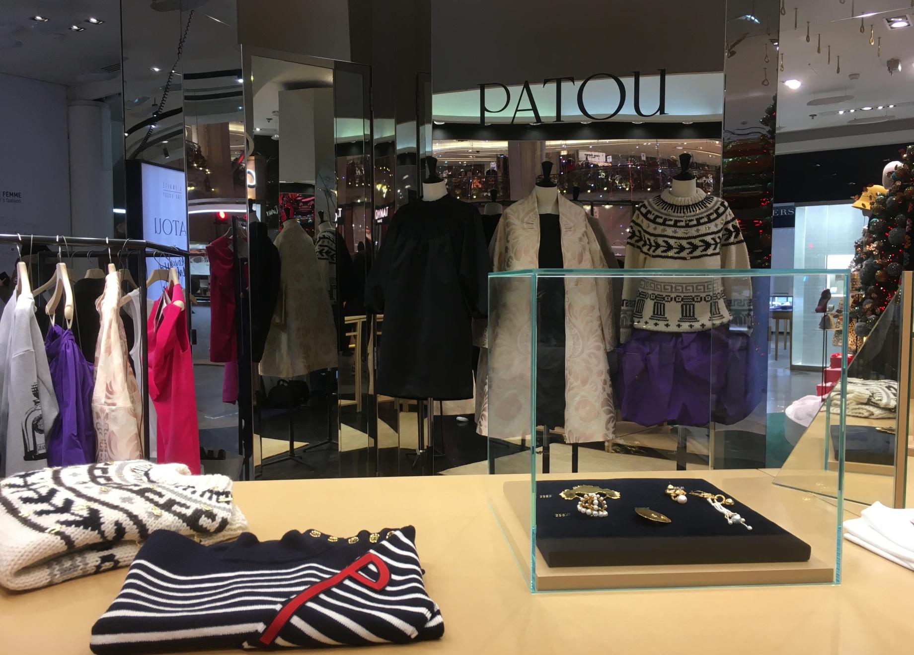 Un concentré de Patou aux Galeries Lafayette