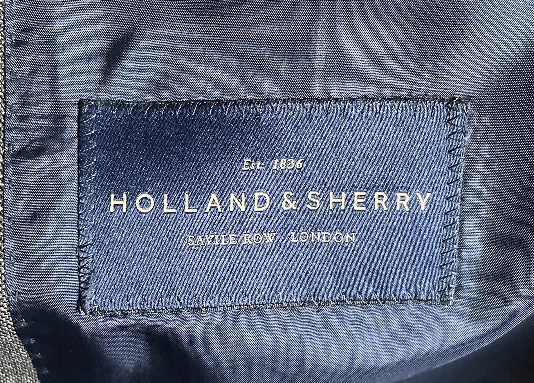 Holland & Sherry… Les mauvaises langues disent que ce n'est plus ce que c'était, refrain connu.